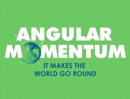 physics makes the world go round angular momentum science - 6760058624