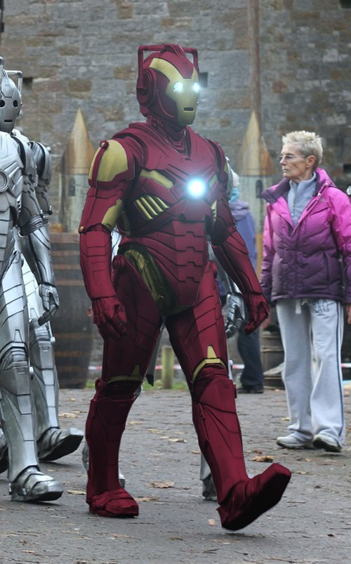 costume,cosplay,doctor who,iron man,cyberman