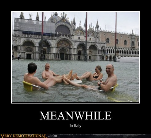 Italy Meanwhile canal