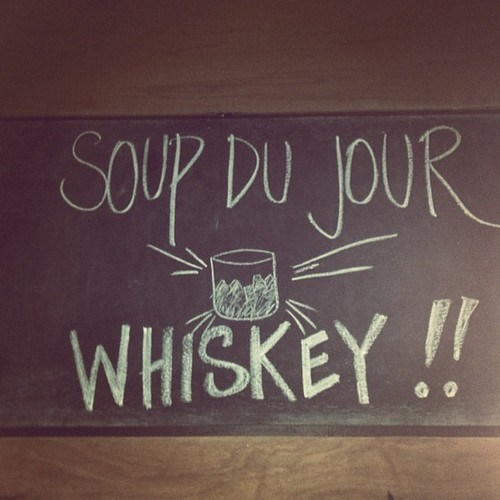 whiskey soup restaurants special