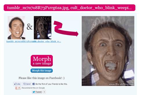 actor nicolas cage celeb face morph nic cage funny - 6760503552