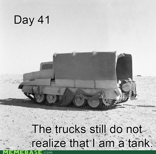 camouflage day blank tank trucks - 6760510720
