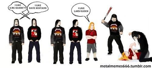 megadeth metalheads metallica lars ulrich - 6760525568
