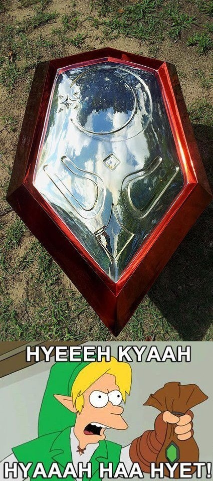 link shield hyeah zelda - 6760565248