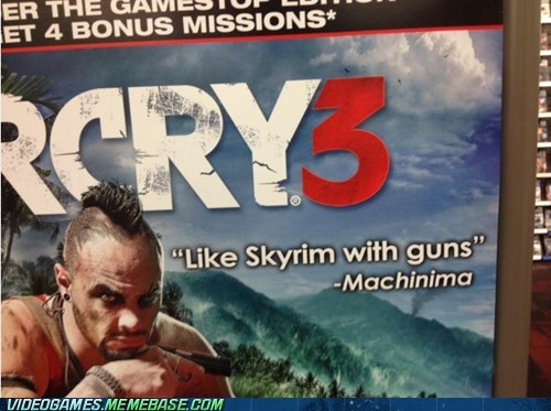 fallout far cry 3 Skyrim - 6760569600