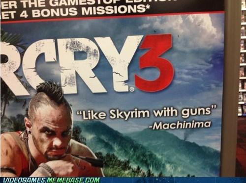 fallout far cry 3 Skyrim - 6760569600