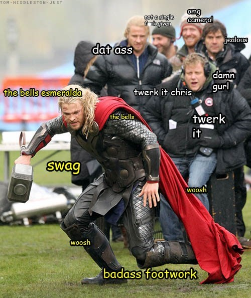 Thor actor celeb chris hemsworth funny - 6760581120