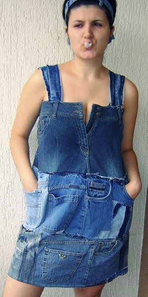 jeans dress - 6760797696