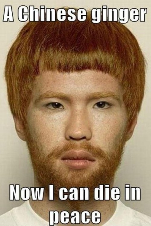 ginger racism what is going on chinese - 6761077248