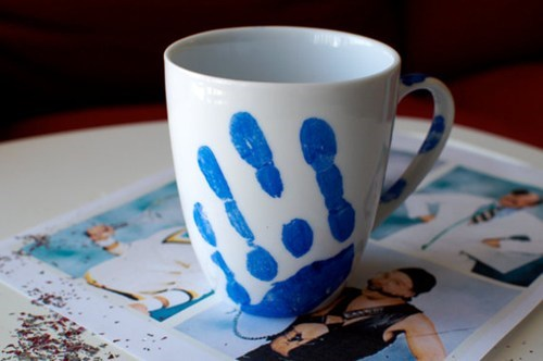 blue blue man paint tobias arrested development mug - 6761204480