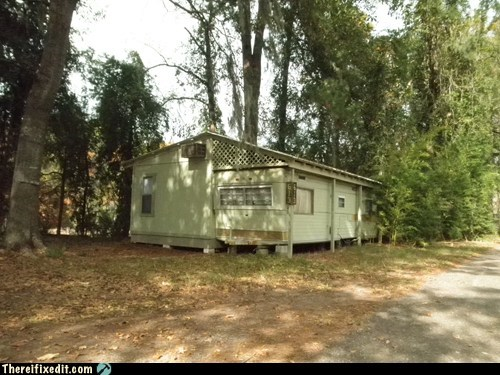 trailer park,room addition,redneck