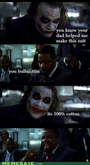 racism cotton Movie the joker batman the dark knight - 6761391872