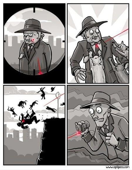 cheezburger assassins laser Cats - 6761532416
