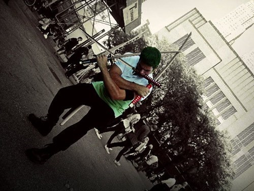cosplay anime roronoa zoro one piece - 6761549568