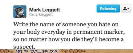murder,enemy,suspect,twitter