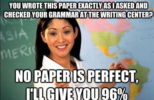 teacher logic,scumbag teacher,papers,grading