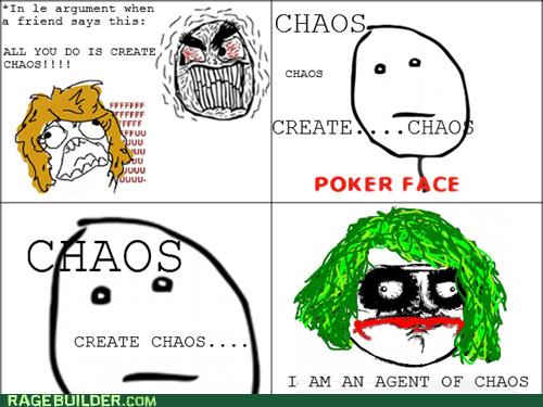 chaos the joker poker face batman - 6762012416