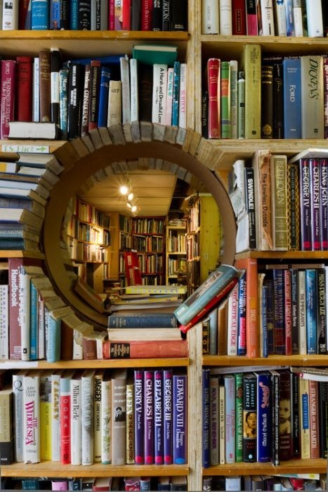 reading is sexy,design,book,tunnel