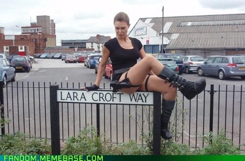 lara croft cosplay movies video games - 6762227456