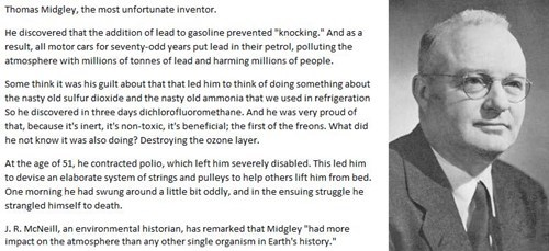 inventers,thomas midgley,gasoline