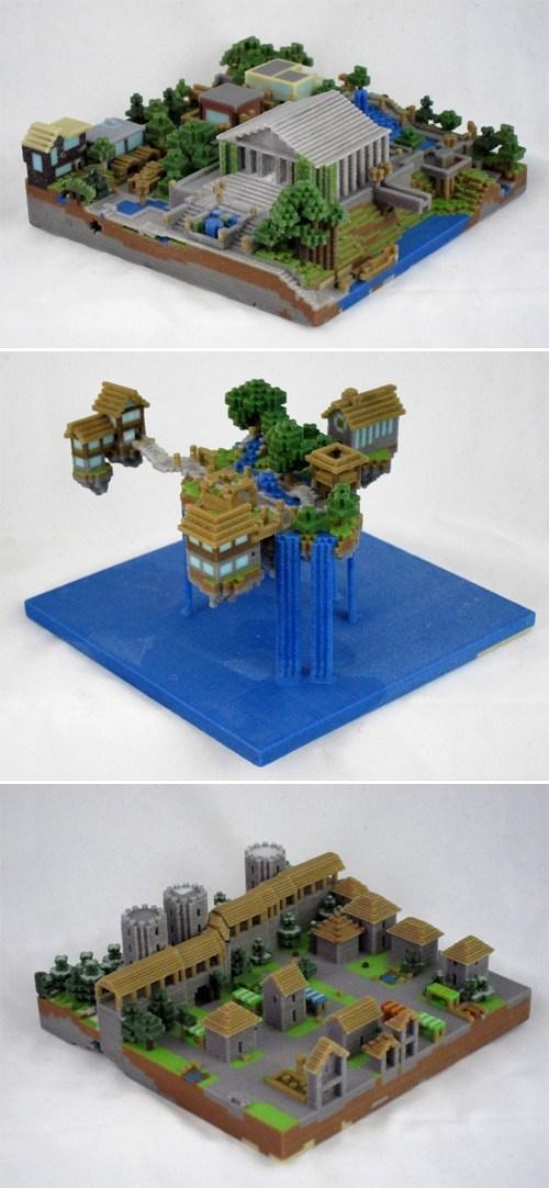sculpture design minecraft 3d print - 6763484672