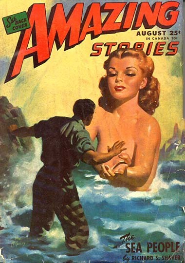 wtf book covers cover art magazine science fiction amazing stories women - 6763490304