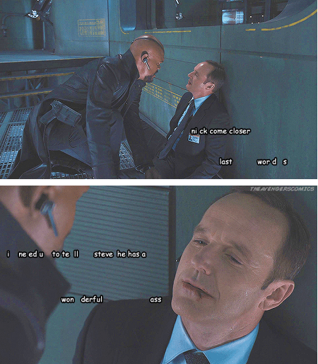 Movie actor The Avengers Samuel L Jackson celeb funny clark gregg - 6763760384