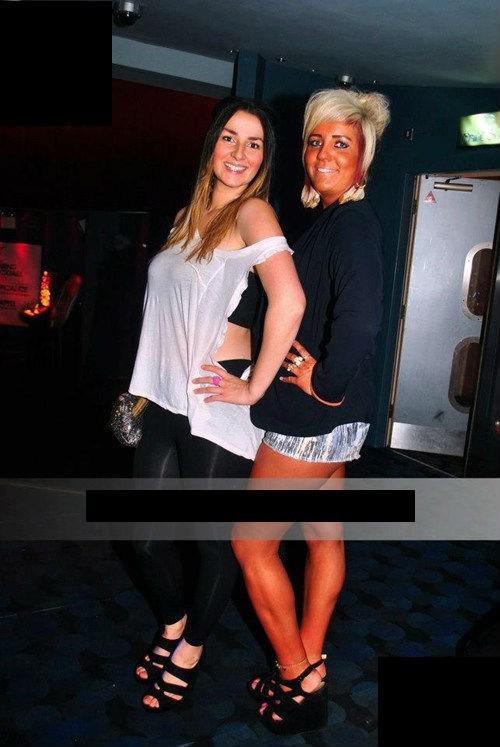 orange,club girls,tanning