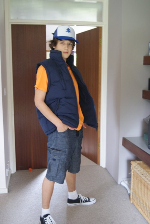 cosplay,gravity falls,cartoons,dipper pines
