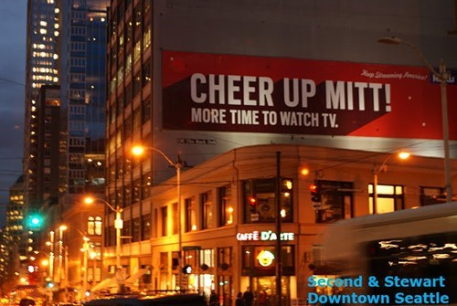 streaming Ad Mitt Romney cheer up TV roku netflix election - 6763998976