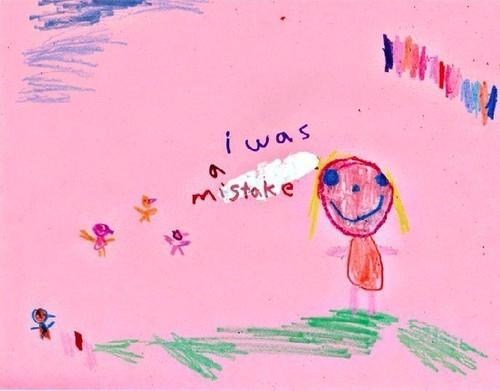 children's drawings,mistake
