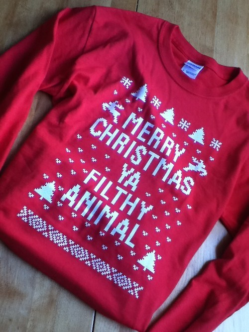 christmas Home Alone sweater - 6764036864