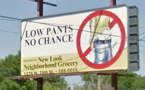 billboard saggy pants - 6764073984