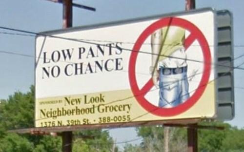 billboard saggy pants - 6764073984