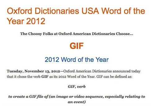 gifs word of the year oxford dictionary