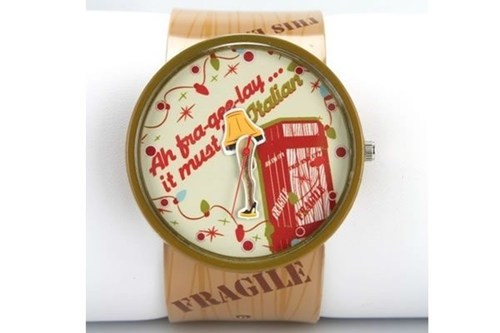 leg lamp,A Christmas Story,watch,fragile