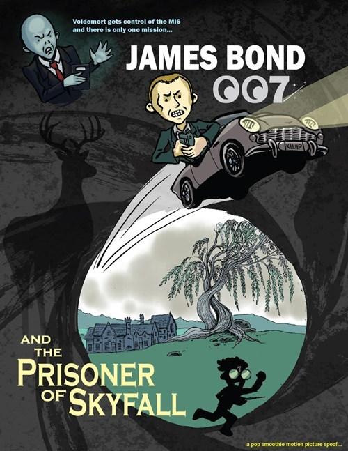 mashup Harry Potter voldemort azkaban prisoner james bond Fan Art skyfall - 6764189184