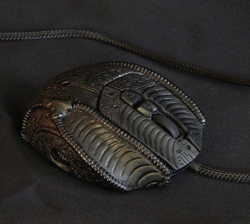 biomech h r giger computer mouse - 6764192512