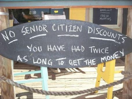 sign troofax senior citizen logic - 6764213760