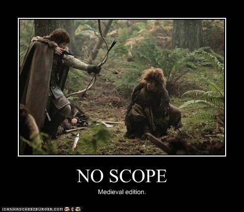 call of duty theon greyjoy medieval bow and arrows Game of Thrones Natalie Tena alfie allen osha no scope - 6764510976