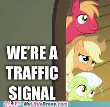 traffic signal,the applefamily