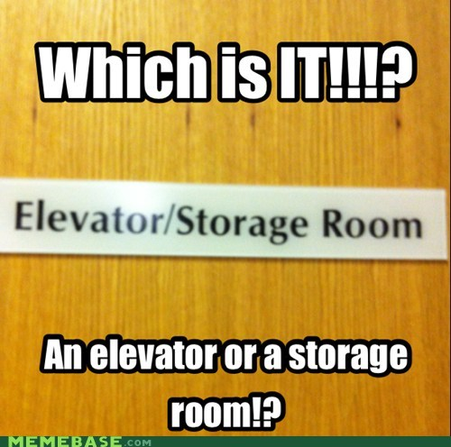 Is it a room full of elevators?