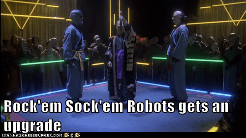 Babylon 5 upgrade rock em sock em robots fight - 6764954880