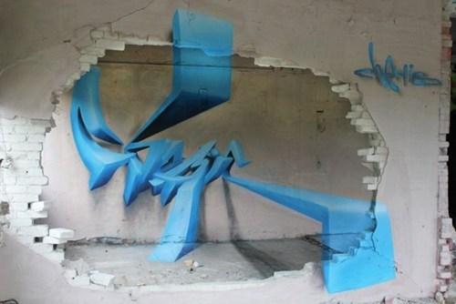 Street Art graffiti hacked irl perspective - 6765065728