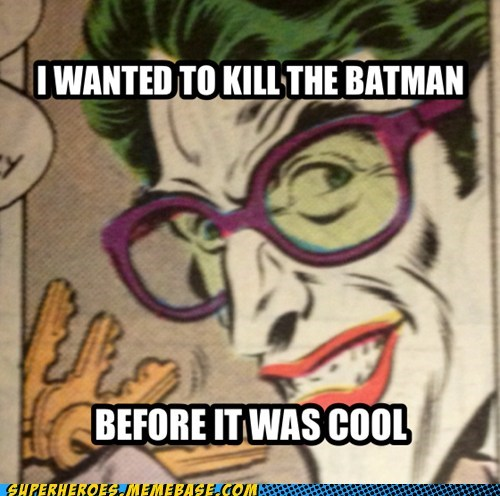 joker hipster batman - 6765283584