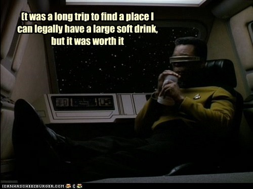 Just hope the captain won't invoke an Earl Grey rule