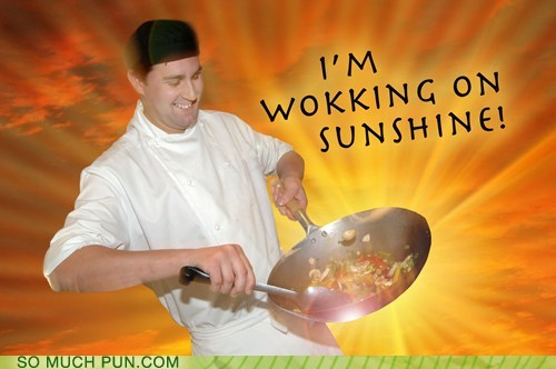 wok,literalism,walk,homophone,double meaning,verb that noun