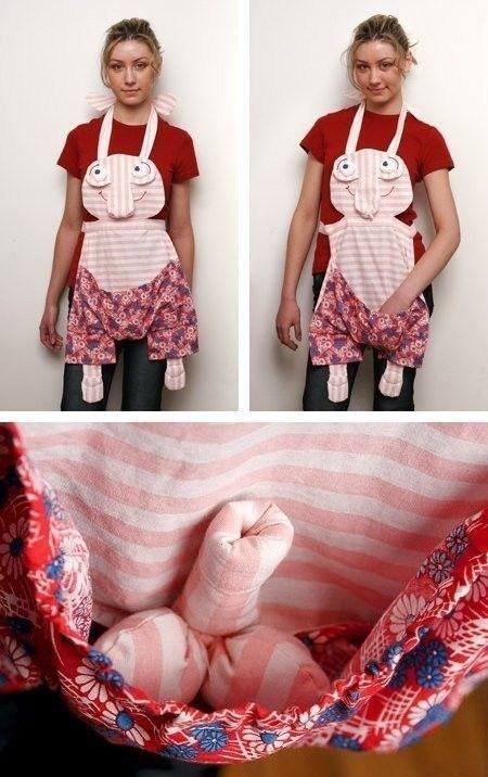 apron,kangaroo