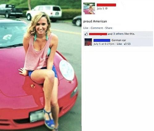 german,cars,facebook,'murica!