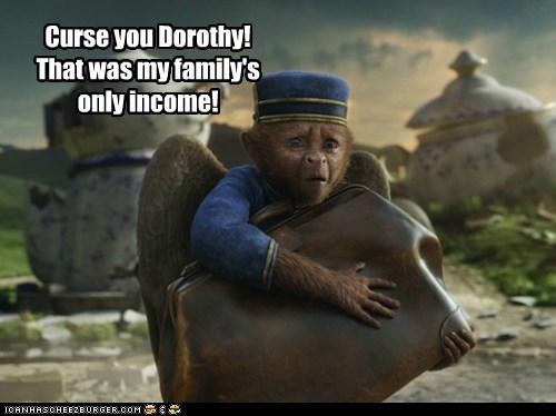 Sad Dorothy flying monkey - 6766546944